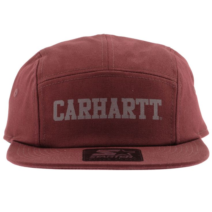 Carhartt Wells Starter Cap Red                     @mainlinemenswear