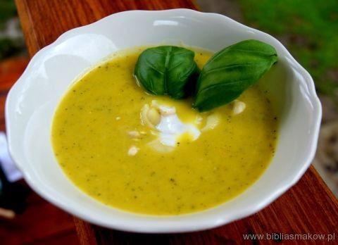 Przepis na Zupa krem z cukinii | Zupy | Biblia Smaków