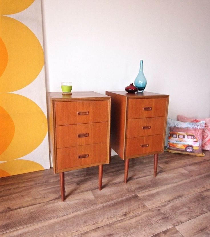 Pair of 1960's Danish Style. Pair of stylish retro side tables with gorgeous mid century styling characterized by strong and simple clean lines. 'This is a highly collectable pair of 1960's side tables that very rarely come up for sale'. | eBay!