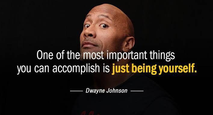 Dwayne Johnson Quote Dwayne Johnson Quotes Celebration Quotes Life Lesson Quotes