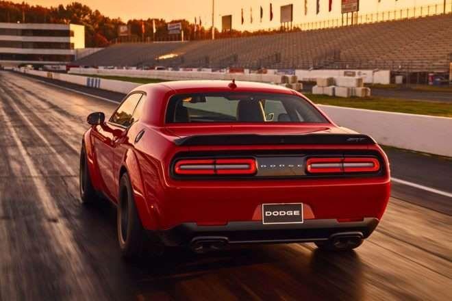 2018 Dodge Challenger SRT Demon Arrives with 840 Horsepower for the Track