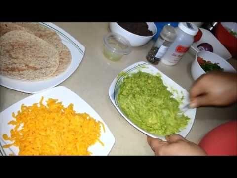 Tacos suaves, guacamole y pico de gallo - YouTube