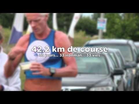 Didier Woloszin, 33 Ironman Il enchaine 33 Ironman !!! soit  125,4km Natation 5940 km de vélo 1386km de course à pieds