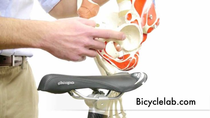 Bicycle Saddle - first video in series about seat comfort for cyclists