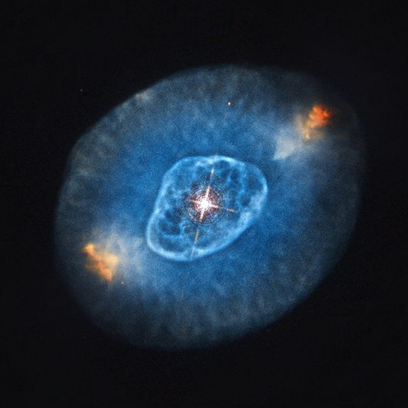 Optical Emission of Planetary Nebula NGC 6826