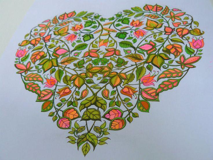 Johanna Basford Secret Garden Page