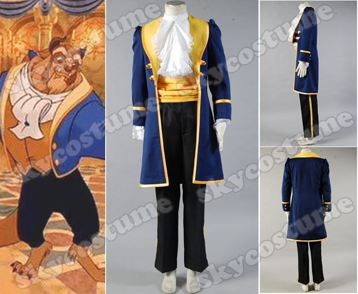 Beauty and the Beast Prince Adam Costume from Beauty and The Beast