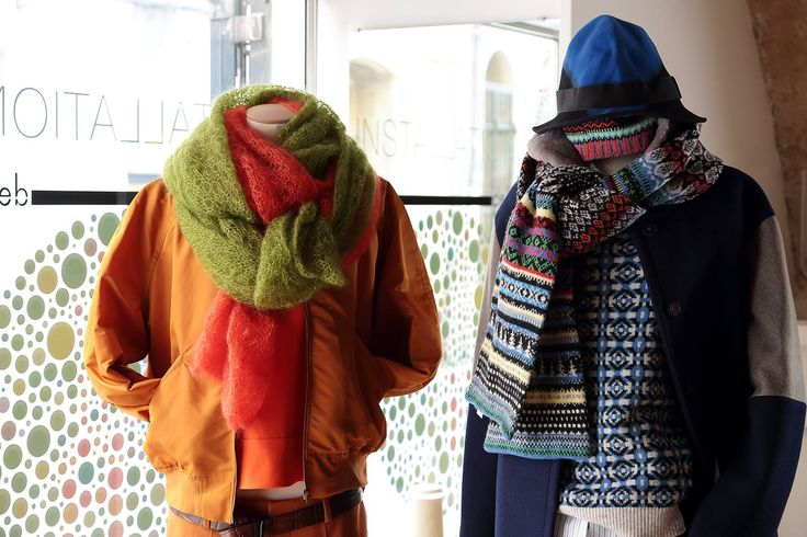 In-store styling of ERIBÉ (right) at De La Luce. A very stylish shop in Montpelier, France.