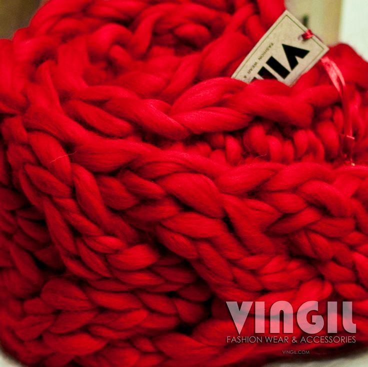 Moroshka par vingil grosse maille ensemble d accessoires d hiver articles charpe en - Grosse echarpe en laine ...