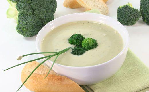 Cream of Broccoli Soup - Creamy and delicious!