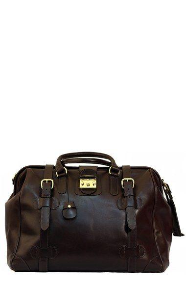 Mulholland 'Safari' Leather Bag