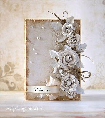 Okay so this site is in Polish, but this would make a beautiful guest book! I'm sure it would be relatively easy with a trip to Michaels and possibly a bit of spray paint and/or wood stain for the journal edges.