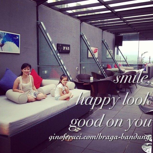 Sublime Sky Lounge 17th Floor - Smile, happy look good on you!   Gino Feruci Braga Hotel Jl Braga 67 Bandung