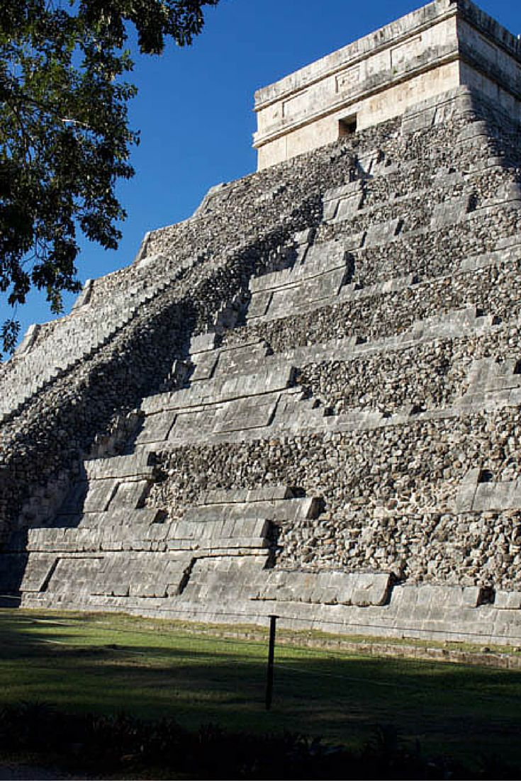 The UNESCO world heritage site of Chichen Itza in Mexico is located just outside of Cancun and easily accessible as a day trip from neighboring regions. | ForksAndFootprints.com