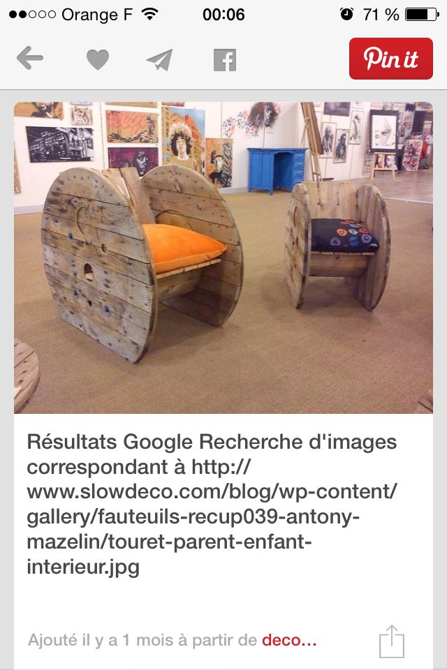 23 best meubles images on Pinterest Benches, Pallet wood and Wood