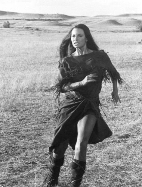 Raquel Welch in The Legend of Walks Far Woman