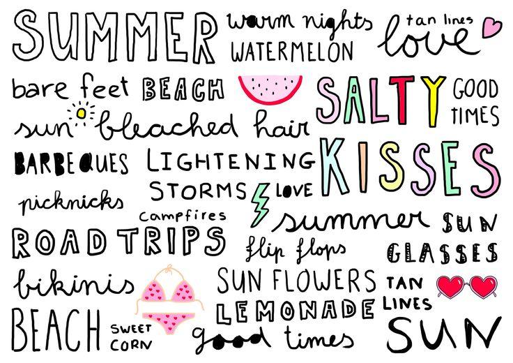 Summer! Studio Stationery ft. Elma mini poster
