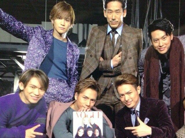 Imaichi Ryuji & Tosaka Hiroomi & Iwata Takanori & Yamashita Kenjiro & Naoto & Naoki