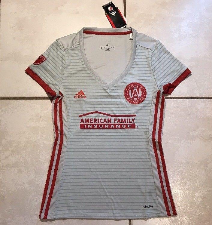sale retailer fdbcc e58ed NWT ADIDAS Atlanta United FC MLS Away Jersey Women's Small ...