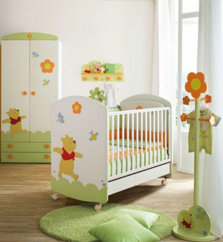 Composiciones para cuarto de beb s winnie the pooh y camas for Muebles para cuarto de bebe