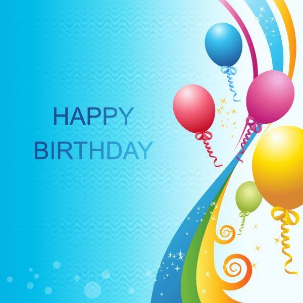 17 Best images about Happy Birthday 6 – Birthday Wish Template