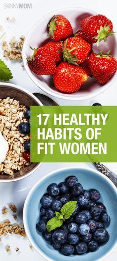 AxFixes: 17 Healthy Habits of Fit Women #Delicious_Recipes #Top_Recipes…