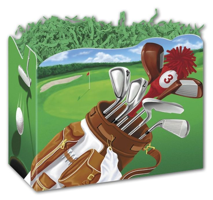 Patterned Specialty and Event Boxes - Golf Scene Gift Basket Boxes, 10 1/4 x 6 x 7 1/2' (6 Boxes) - BOWS-4717GOLF ** Visit the image link more details.