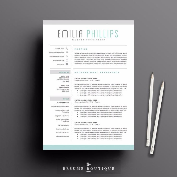 25 best 25+ Professional Resume Templates u2013 PSD,Word,Indesign,DOC - indesign resume templates