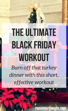 The Ultimate Black Friday Workout: HIIT Workout Moves that Burn Calories Fast (Burn off that Turkey Dinner Quickly)