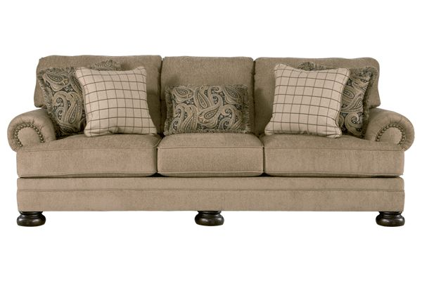 Upholstery fabric surrounding this comfortable furniture collection