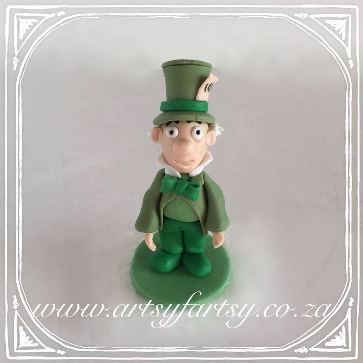 Alice in Wonderland Sugar Figurines #aliceinwonderlandsugarfigurines #madhatter
