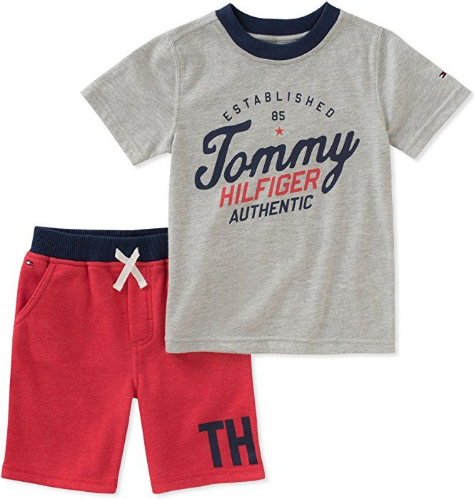 Tommy Hilfiger Boys Toddler 2 Pieces Shorts Set