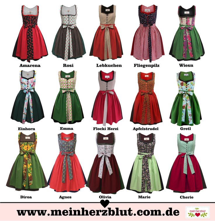 cute Dirndl Dresses Wiesn Oktoberfest