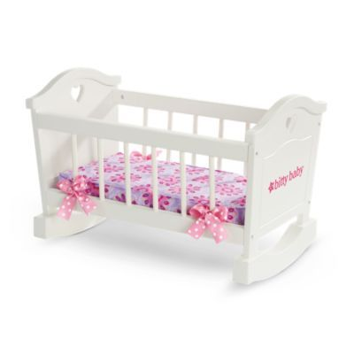 Bitty's Rocking Cradle | furnbb | American Girl