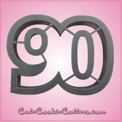 Number 90 Cookie Cutter - Cheap Cookie Cutters