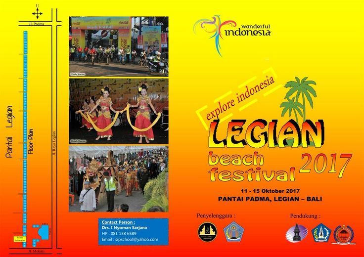 Legian Beach Festival will take place from 11-15 October 2017