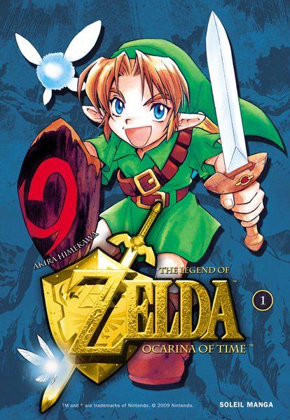 Manga - Zelda - Ocarina of time