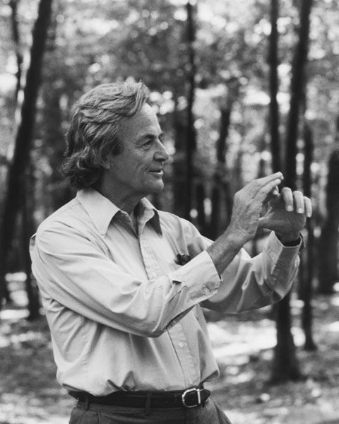 """Physics is like sex: sure, it may give some practical results, but that's not why we do it."" Richard Feynman"