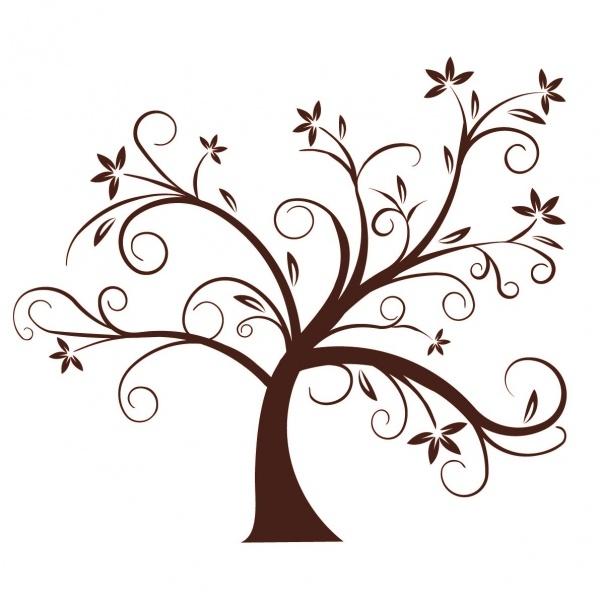 Vinilo arbol im genes blanco y negro pinterest - Vinilos de arboles ...