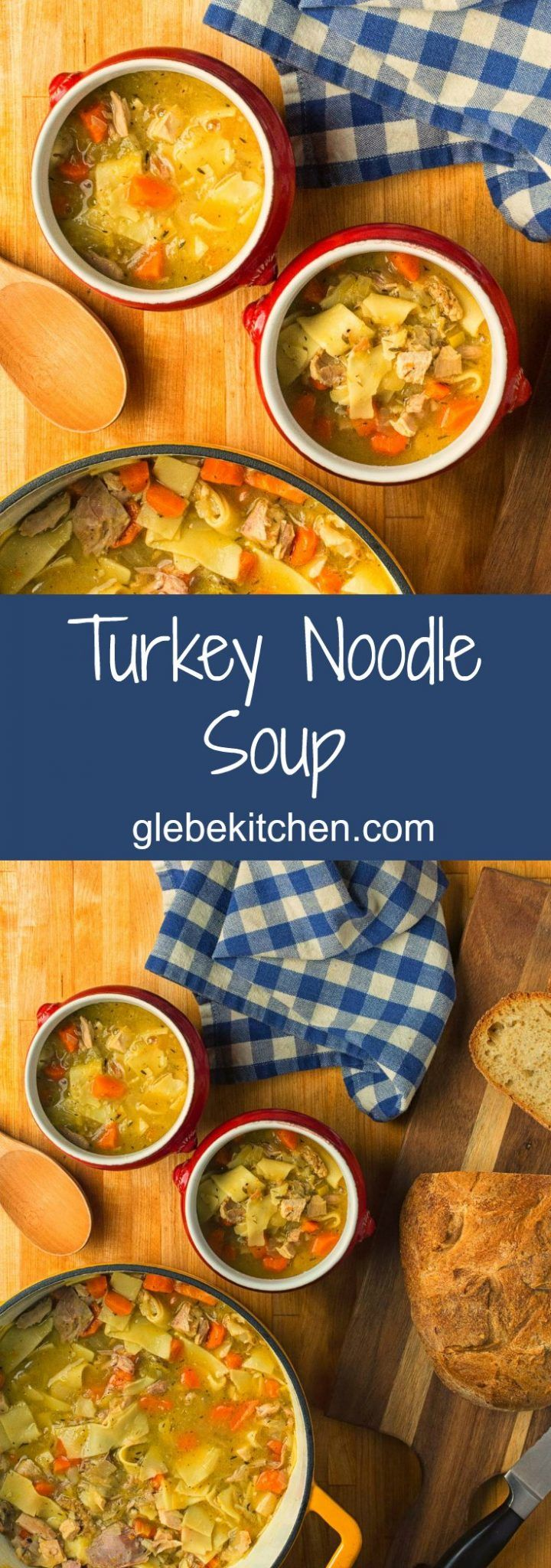 Amazing mouthfeel sets this turkey noodle soup apart.
