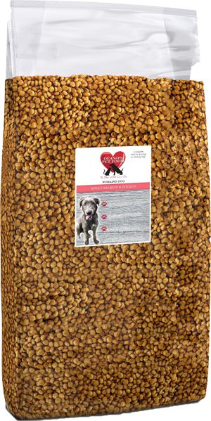 Deano's super premium dog food, Hypo-allergenic, Tasty salmon, developed with leading pet nutritionists & veterinary approved. Discounted prices