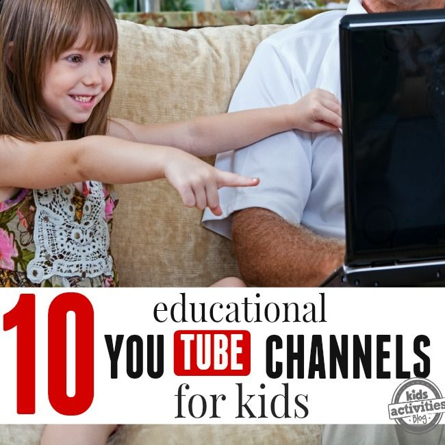 Educational Youtube Channels for kids will make learning fun and very effective. Choose videos from 10 different channels and start learning.