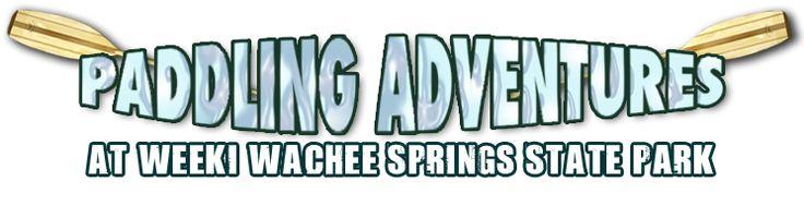 Weeki Wachee Kayak Rental paddling adventures (next time in orlando!)