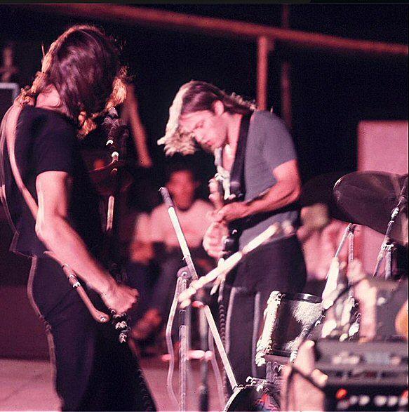 pinkfloydigan:  Roger and David, Japan, 1972
