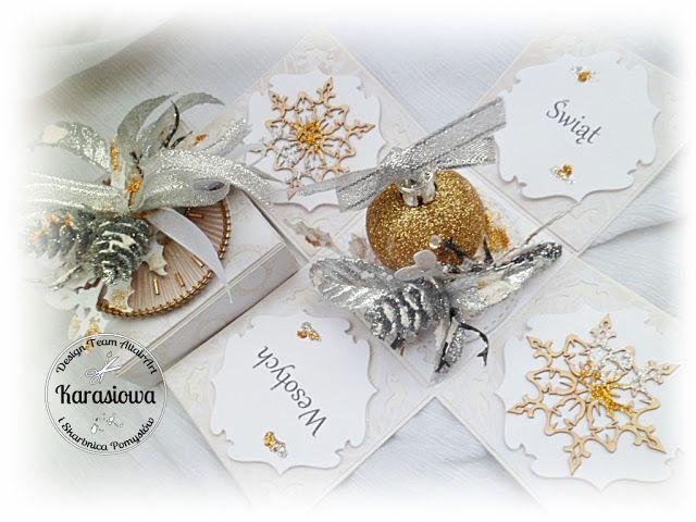 .: Świąteczny mini box - DT Altair Art