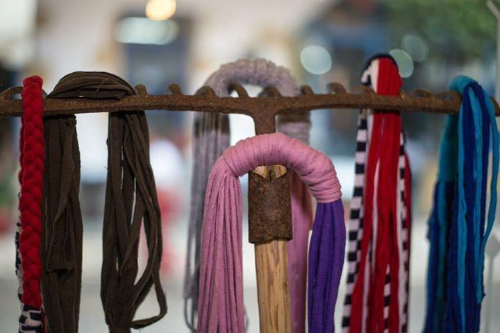 Handmade washable scarf necklasces