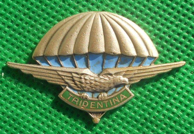 distintivo alpino aviazione fregio cappello alpini brevetto paracadutista