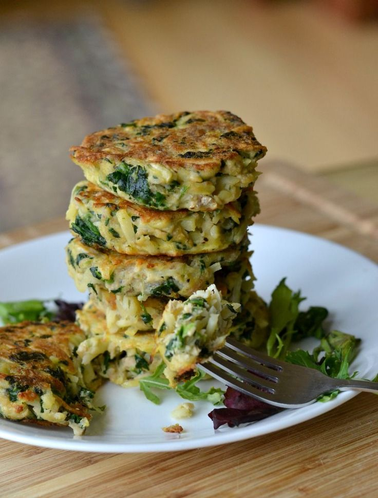 Easy Salmon Patties. Only four simple ingredients required!