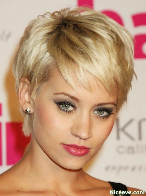 Short hair styles for women Choppy Hairstyles 2014-pin it from carden