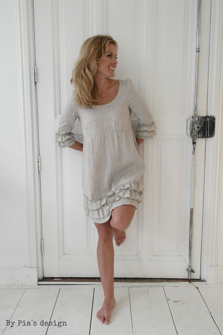 By Pia's Linen Dresses / @bypiasdesign